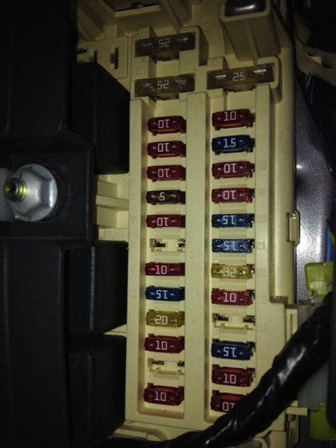 Jeep Cherokee 1997 & Up Fuse & RelayIdentification