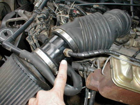 Jeep Cherokee Engines M A T Sensor Relocation