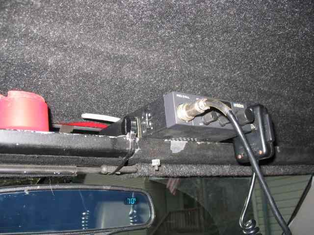 73 87 Chevy Mount Cb From Roof Overhead Console
