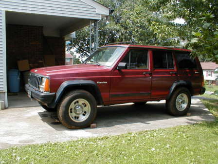 Jeep Cherokee Suspension - XJ Budget Lift -