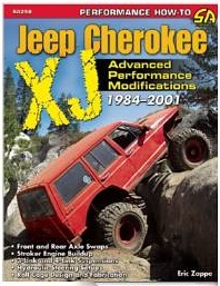 This is a FANTASTIC book for upgrading and modifying your Cherokee! Other Jeep upgrading books available!